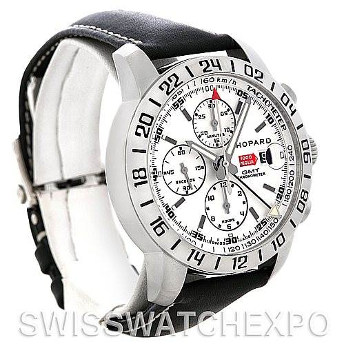 4691 Chopard Mille Miglia GMT Mens Watch 168992-3003 NOS SwissWatchExpo