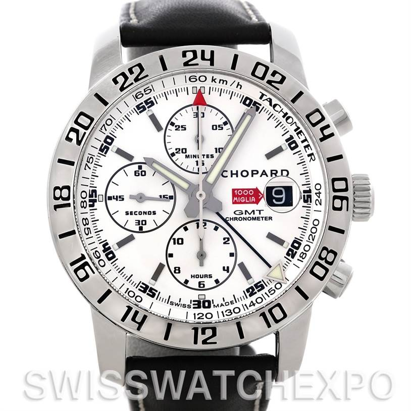 Photo of Chopard Mille Miglia GMT Mens Watch 168992-3003 NOS