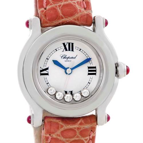 Photo of Chopard Happy Sport Diamond White Dial Ladies Watch 27/8245-21