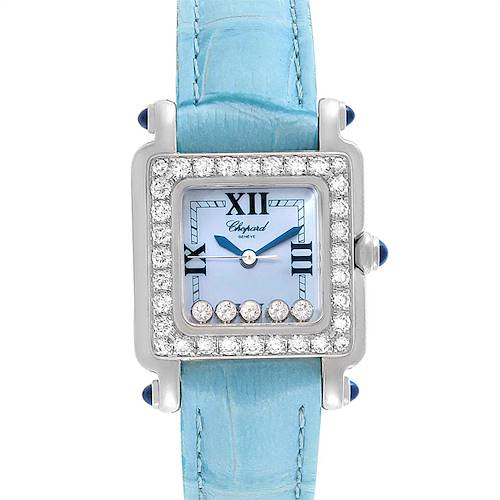 Photo of Chopard Happy Sport Blue Mother Of Pearl Diamond Ladies Watch 27/8894-23/11