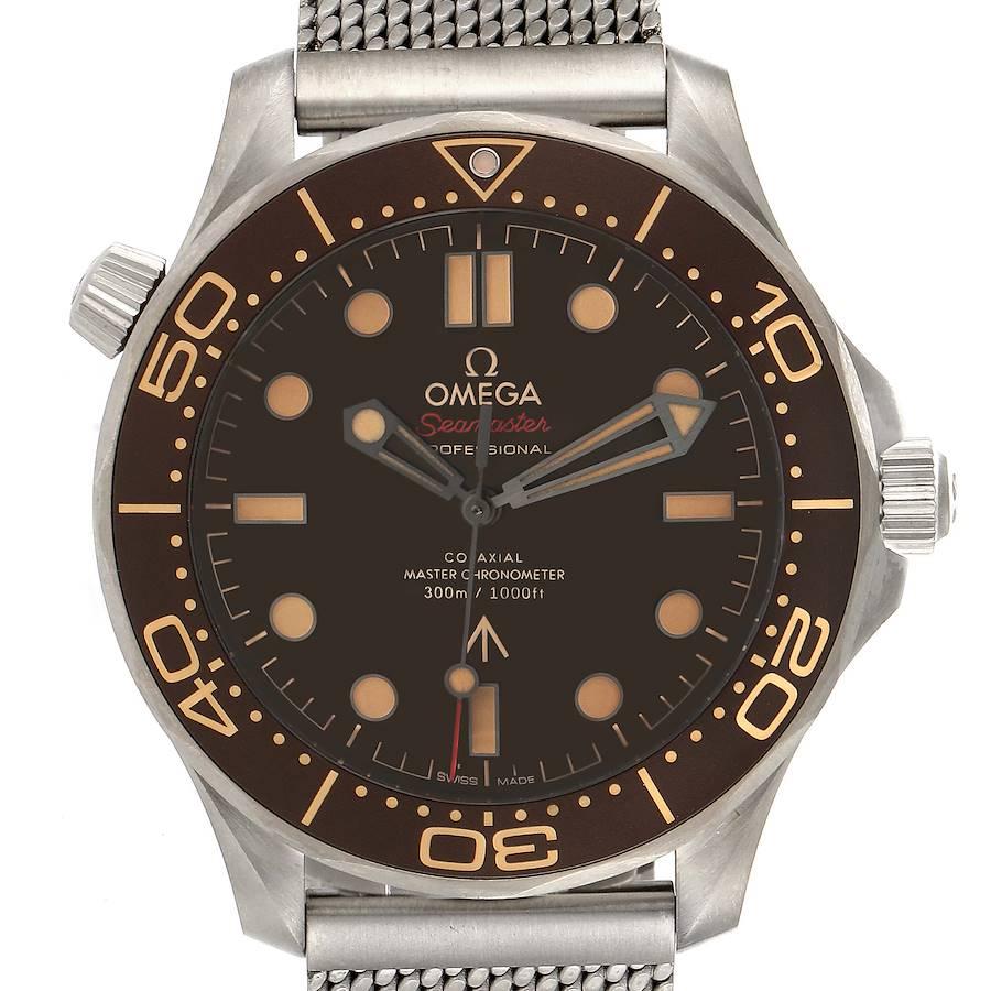 Omega Seamaster 300M 007 Edition Titanium Watch 210.90.42.20.01.001 Unworn SwissWatchExpo