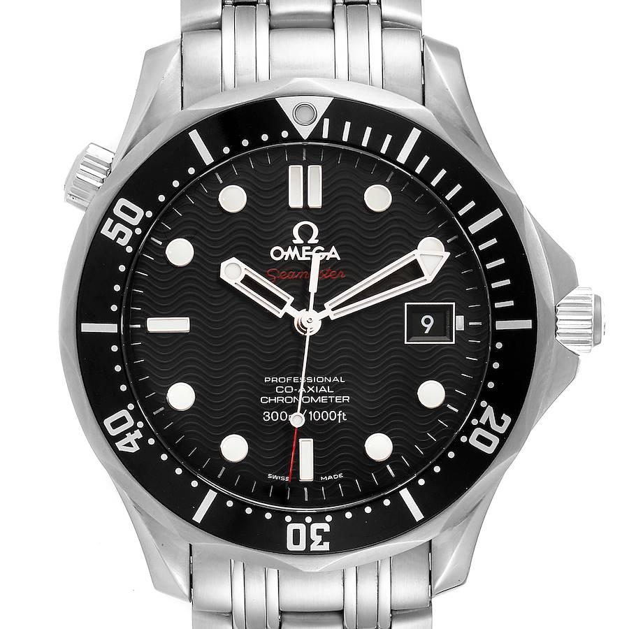Omega Seamaster Black Dial Steel Mens Watch 212.30.41.20.01.002 SwissWatchExpo