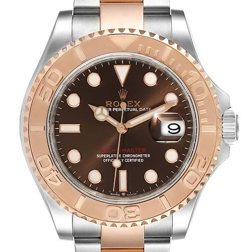 Photo of Rolex Yachtmaster Everose Gold Steel Rolesor Mens Watch 126621 Unworn