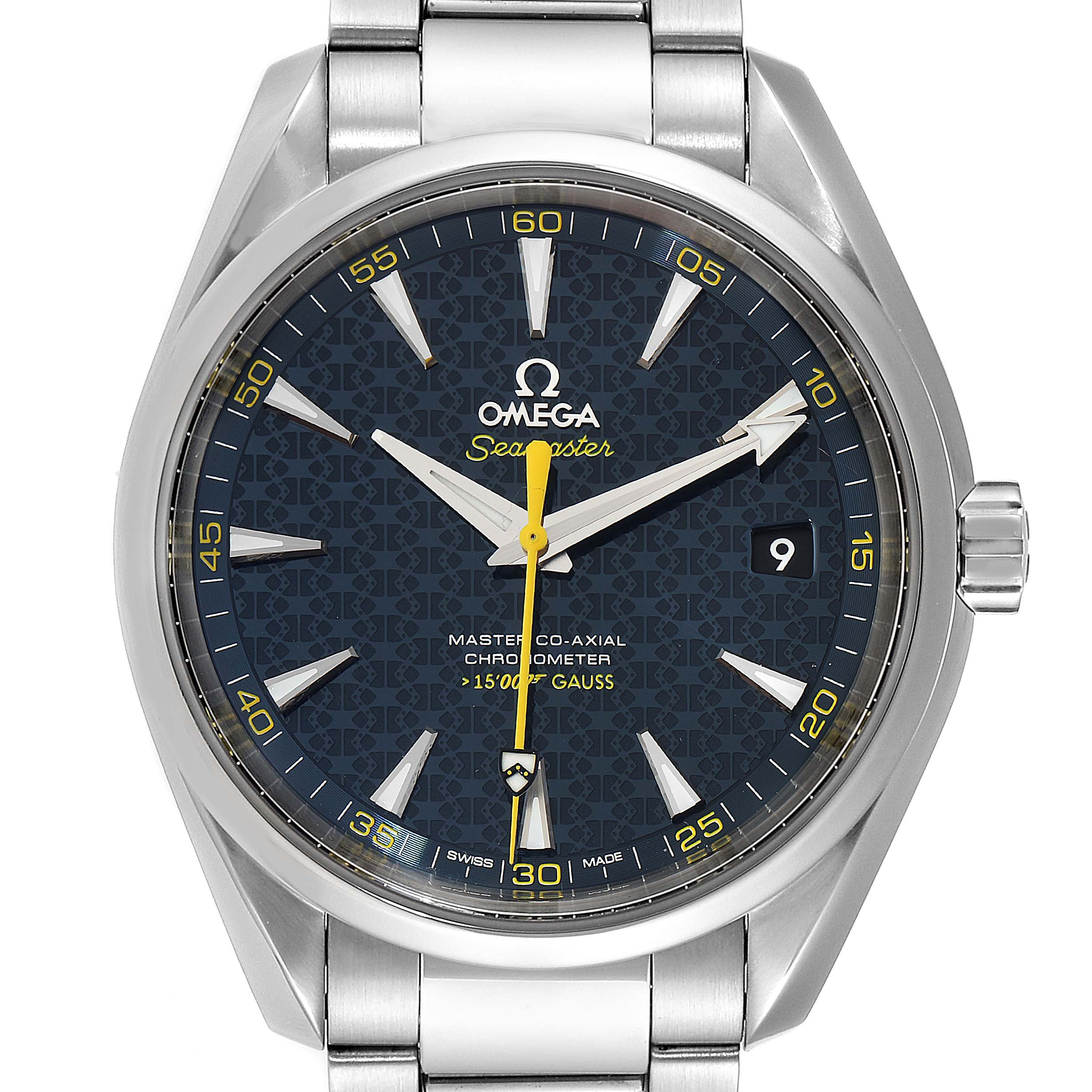 Photo of Omega Seamaster Aqua Terra Spectre Bond LE Watch 231.10.42.21.03.004