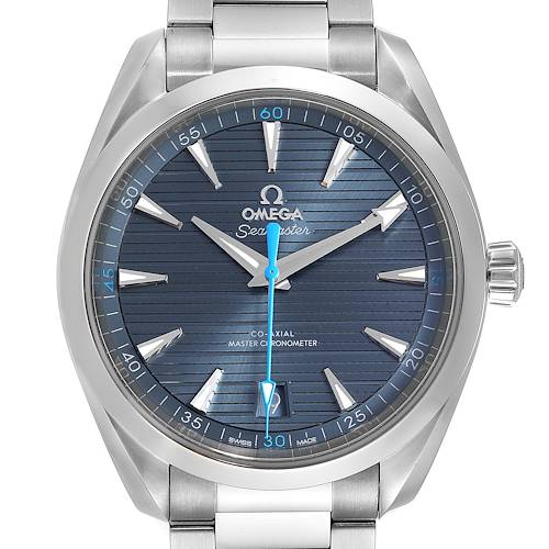 Photo of Omega Seamaster Aqua Terra Co-Axial Watch 220.10.41.21.03.002 Box Card