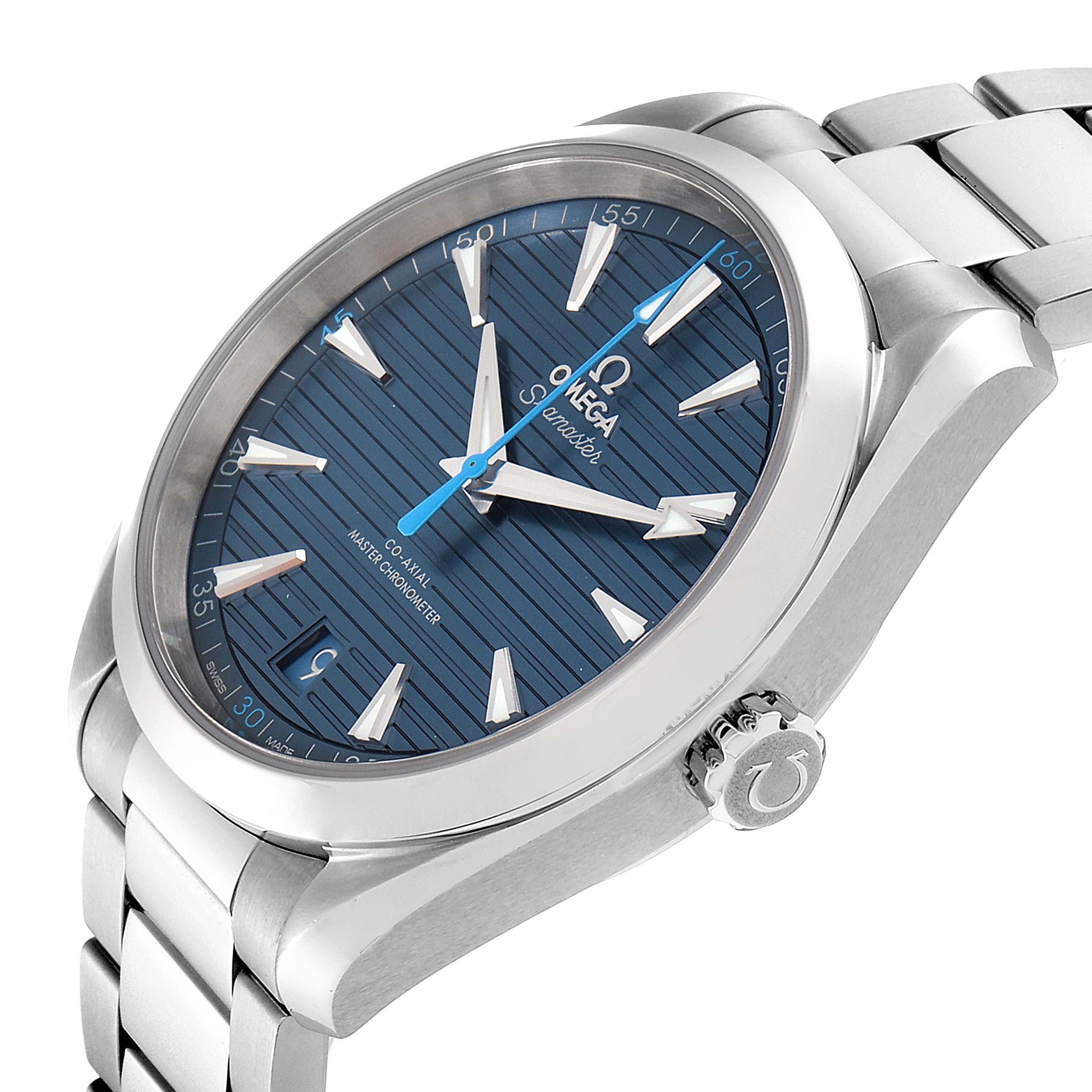 Omega Seamaster Aqua Terra Co-Axial Watch 220.10.41.21.03.002 Box Card SwissWatchExpo