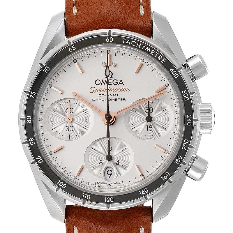 Omega Speedmaster 38 Co-Axial Chronograph Watch 324.32.38.50.02.001 SwissWatchExpo