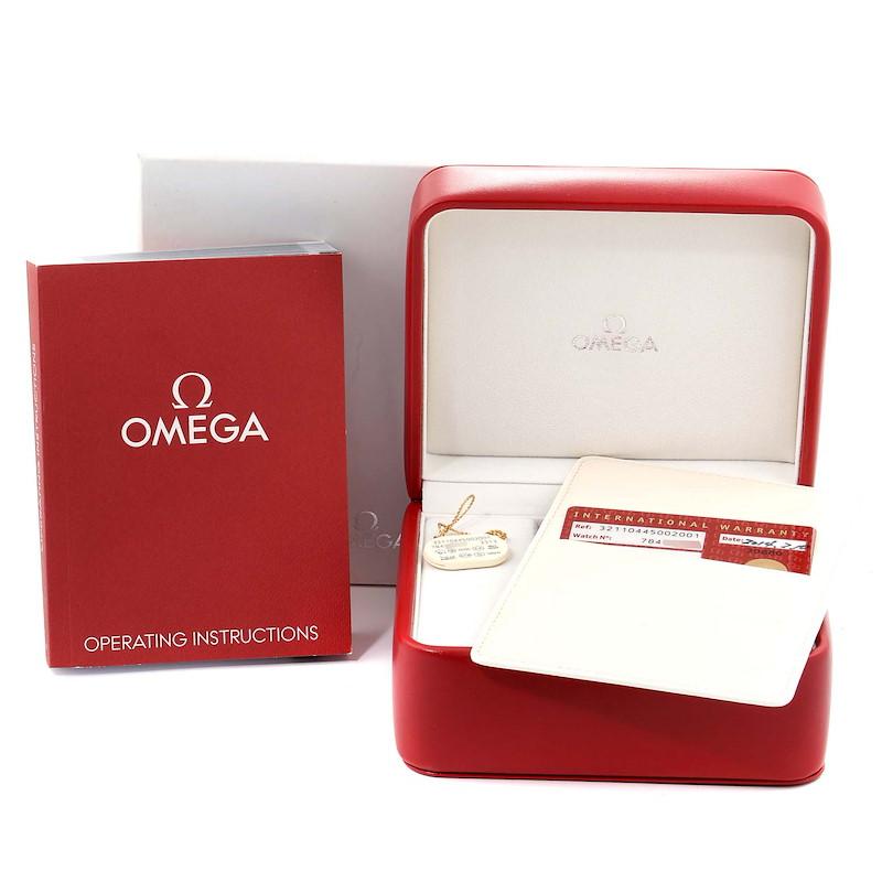 Omega Speedmaster Broad Arrow Silver Dial 321.10.44.50.02.001 Box Cards SwissWatchExpo