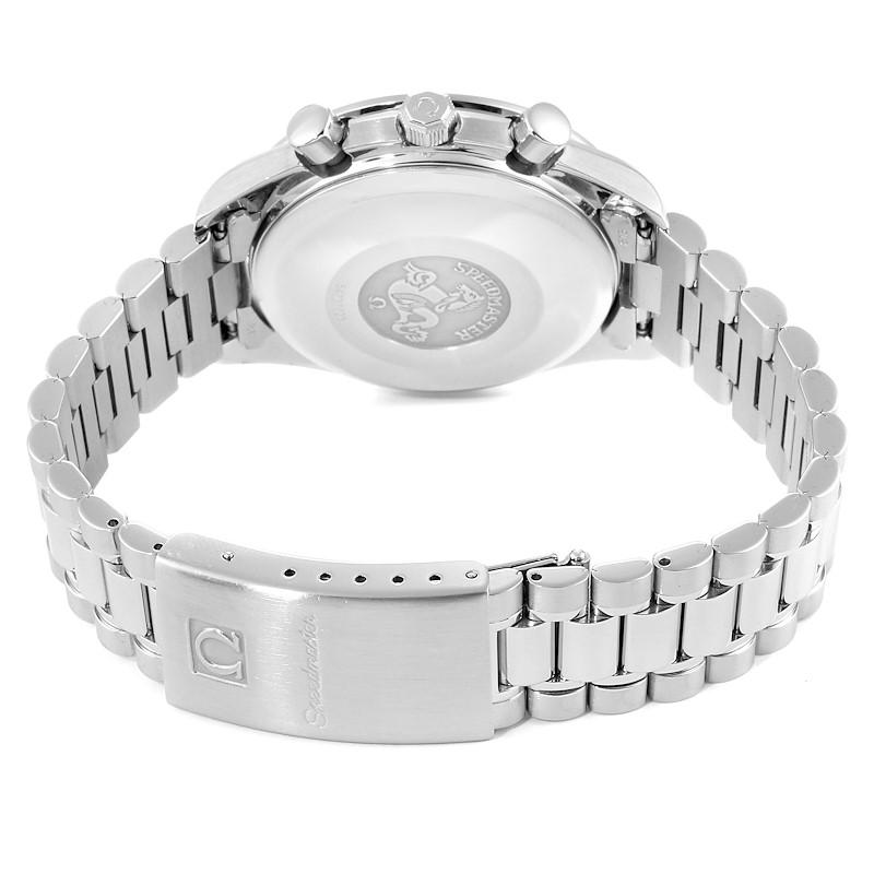 Omega Speedmaster Date Chronograph Steel Mens Watch 3511.50.00 Card SwissWatchExpo