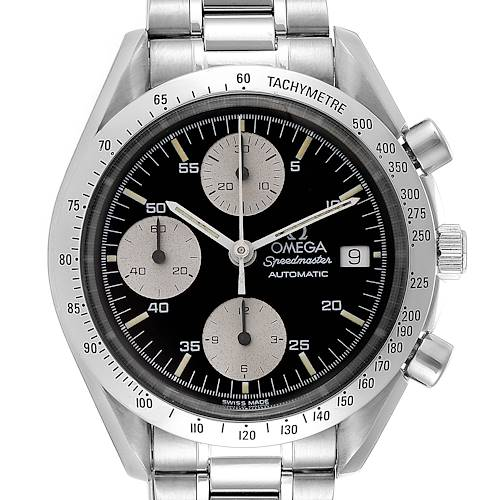 Photo of Omega Speedmaster Date Chronograph Steel Mens Watch 3511.50.00 Card