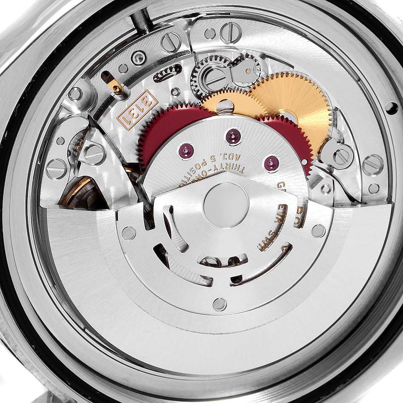 Rolex Milgauss Black Dial Green Crystal Steel Mens Watch 116400GV Box Card SwissWatchExpo