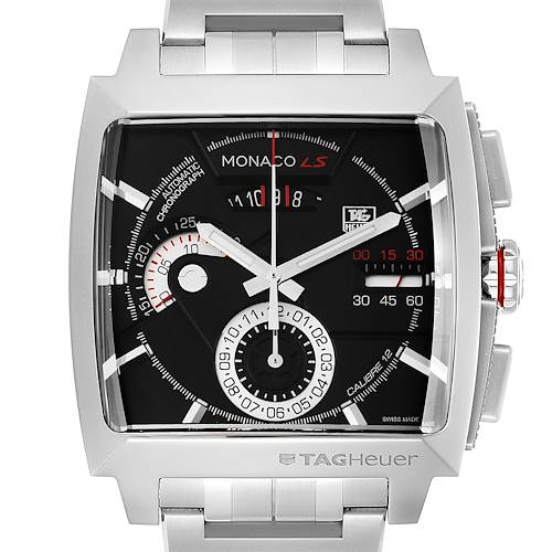 Photo of Tag Heuer Monaco LS Chronograph Steel Mens Watch CAL2110