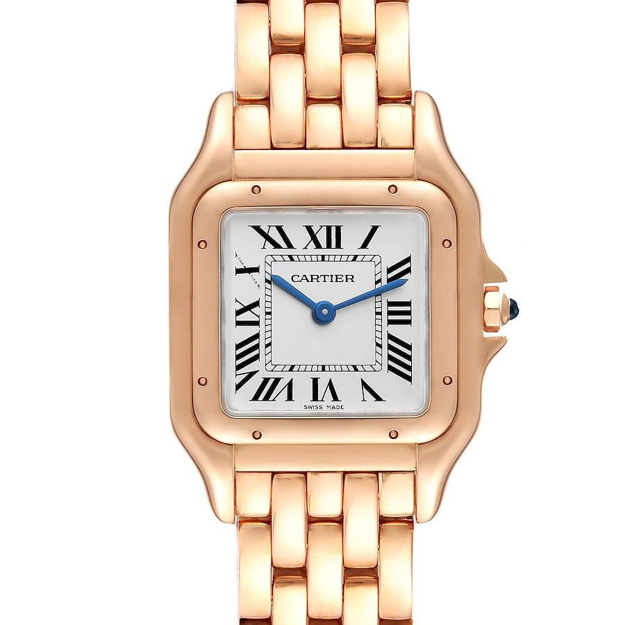 Cartier Panthere 18k Rose Gold Medium Ladies Watch WGPN0007 Unworn SwissWatchExpo