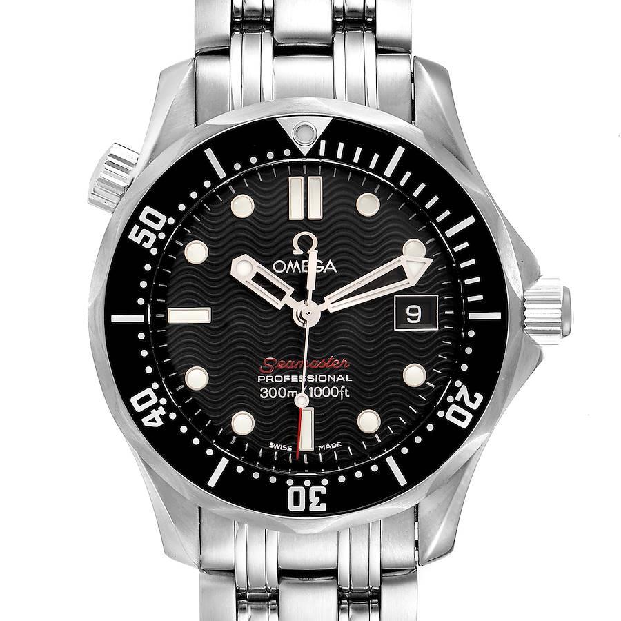 Omega Seamaster Diver 300m Midsize Watch 212.30.36.61.01.001 Box Card SwissWatchExpo