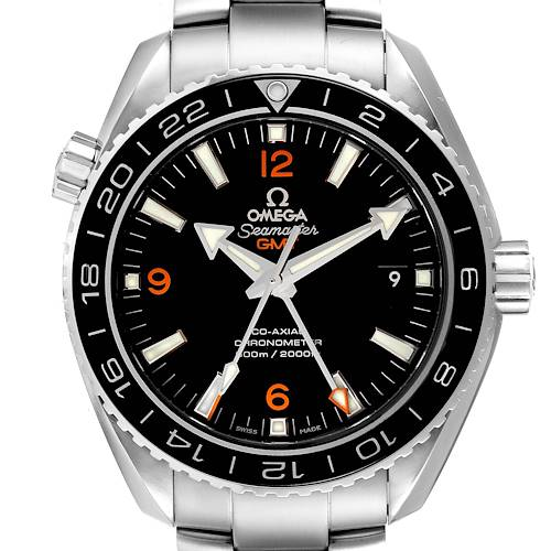 Photo of Omega Seamaster Planet Ocean GMT 600m Watch 232.30.44.22.01.002 Box Card