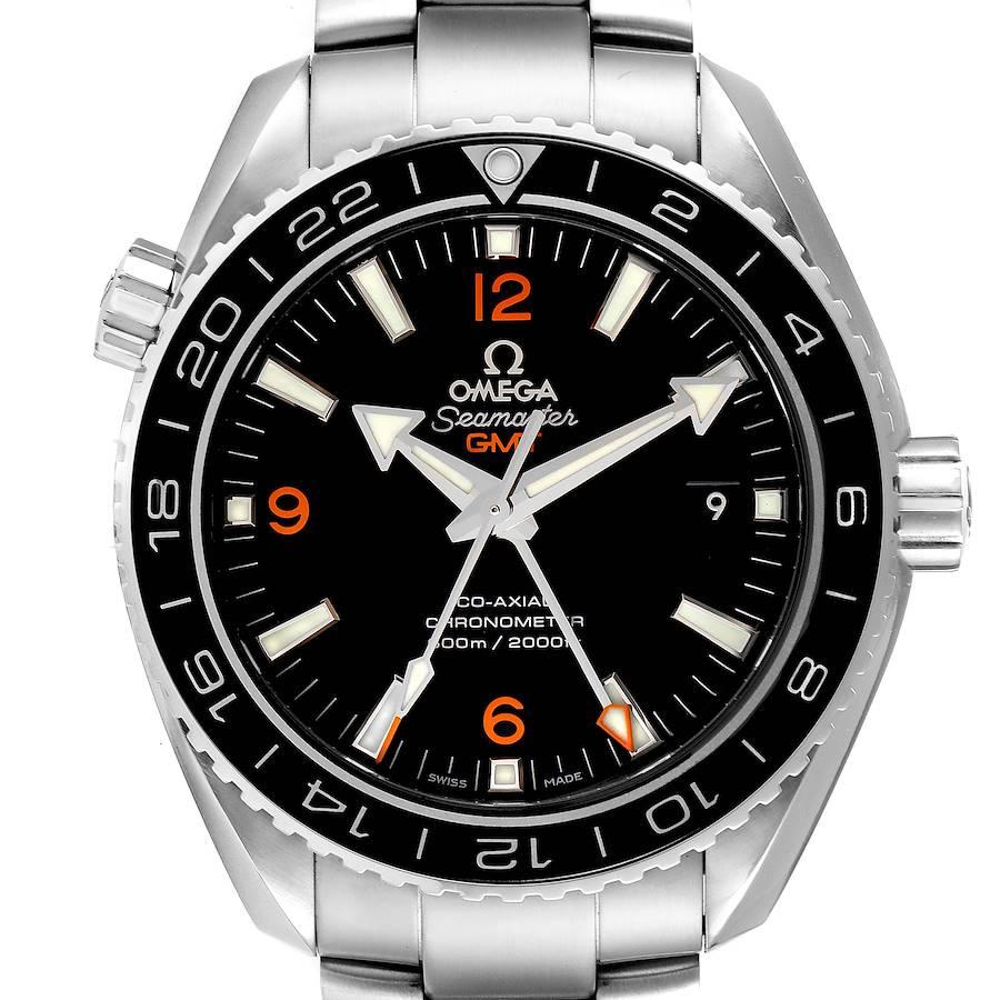 Omega Seamaster Planet Ocean GMT 600m Watch 232.30.44.22.01.002 Box Card SwissWatchExpo