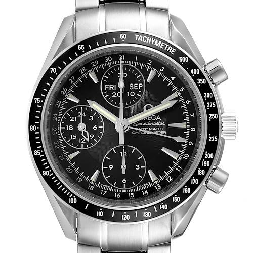 Photo of Omega Speedmaster Day-Date 40 Chronograph Watch Watch 3220.50.00 Box Card