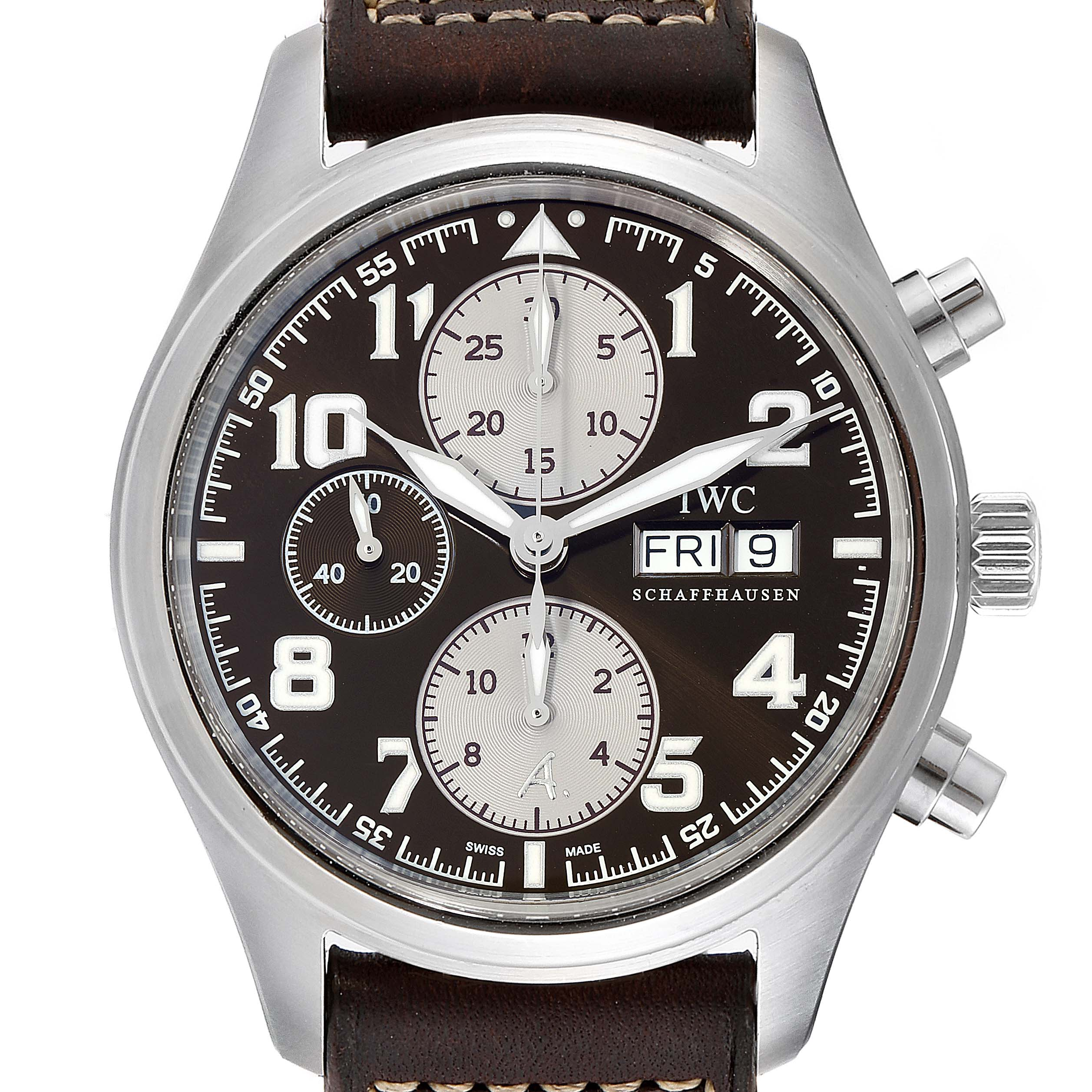 Photo of IWC Spitfire Pilot Saint Exupery Limited Edition Mens Watch IW371709
