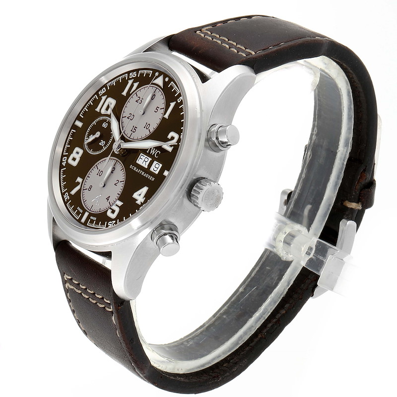IWC Spitfire Pilot Saint Exupery Limited Edition Mens Watch IW371709 SwissWatchExpo