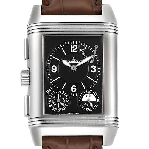 Photo of Jaeger LeCoultre Reverso Grande GMT Watch 240.8.18 Q3028420 Box Papers