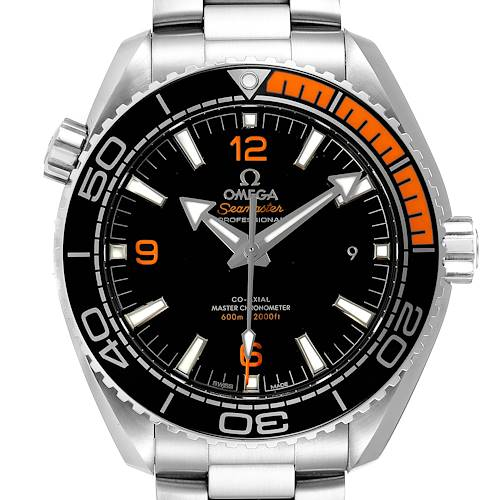 Photo of NOT FOR SALE -- Omega Planet Ocean Black Orange Bezel Watch 215.30.44.21.01.002 Box Card -- PARTIAL PAYMENT
