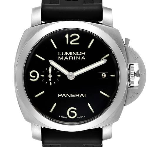 Photo of Panerai Luminor 1950 Marina Mens 44mm Watch PAM00312 Box Papers