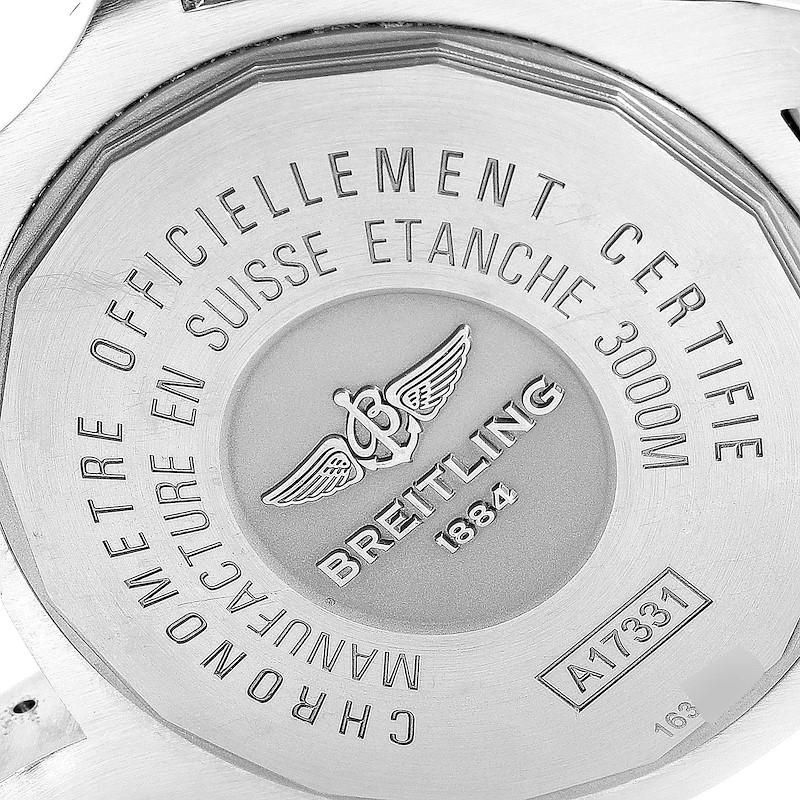 Breitling Aeromarine Avenger II 45 Seawolf Steel Mens Watch A17331 Box SwissWatchExpo