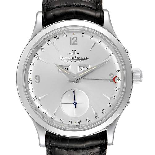 Photo of Jaeger Lecoultre Master Tripple Date Calendar Mens Watch 140.8.87 Q147812A
