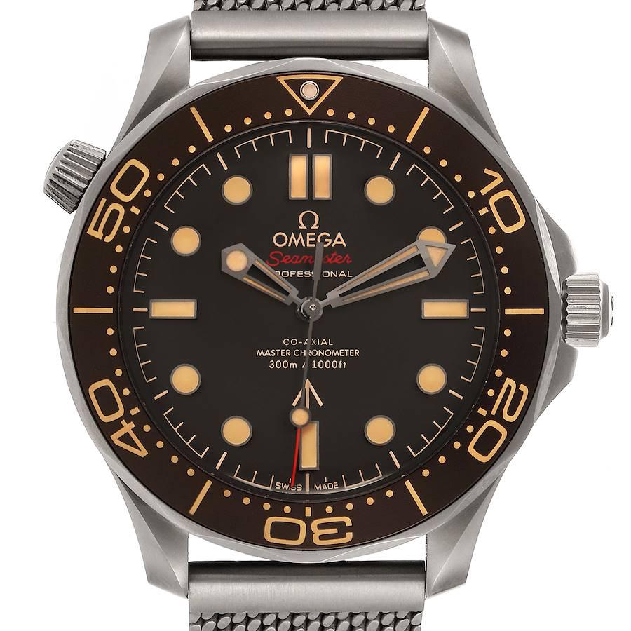 Omega Seamaster 300M 007 Edition Titanium Watch 210.92.42.20.01.001 Unworn SwissWatchExpo
