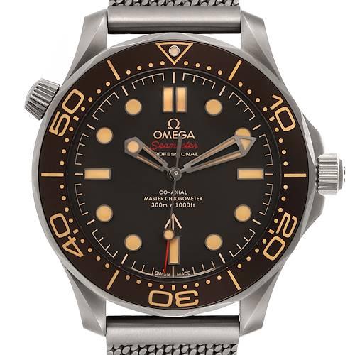 Photo of Omega Seamaster 300M 007 Edition Titanium Watch 210.92.42.20.01.001 Unworn