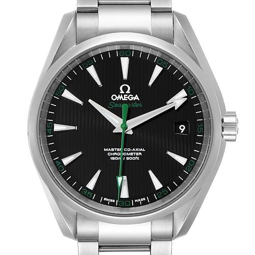 Photo of Omega Seamaster Aqua Terra Golf Edition Watch 231.10.42.21.01.004 Box Card