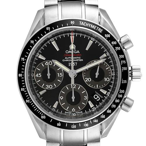 Photo of Omega Speedmaster Day Date Black Dial LE Mens Watch 323.30.40.40.01.001