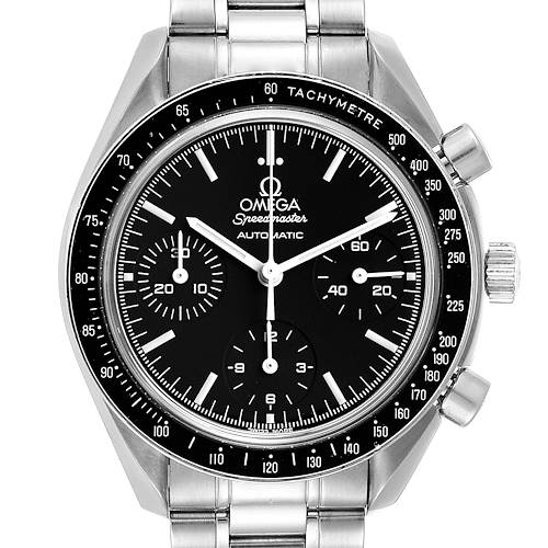 Photo of Omega Speedmaster Reduced Automatic Steel Watch 3539.50.00 Box Card