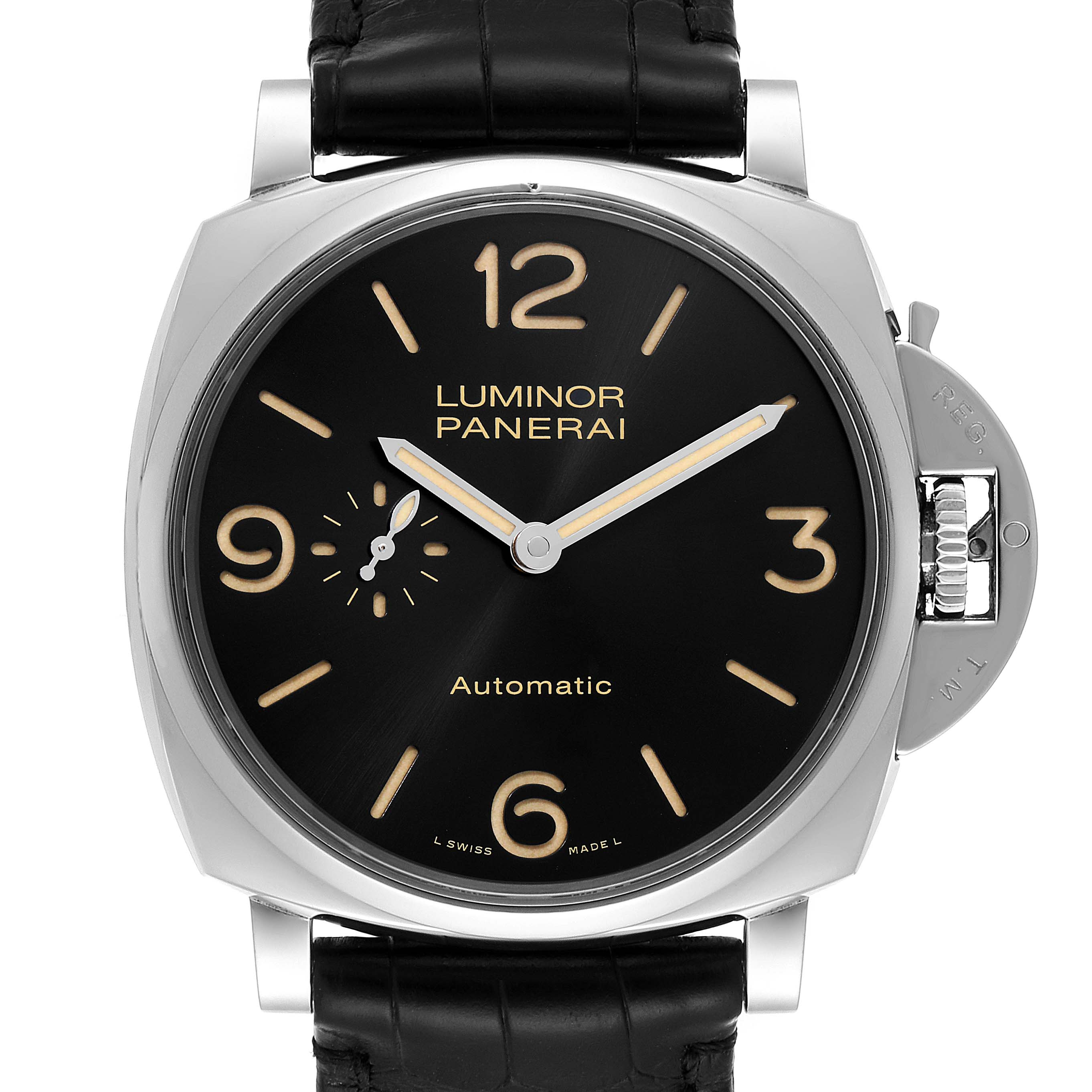 Panerai Luminor Due 3 Days 45mm Mens Watch PAM00674 Box Papers