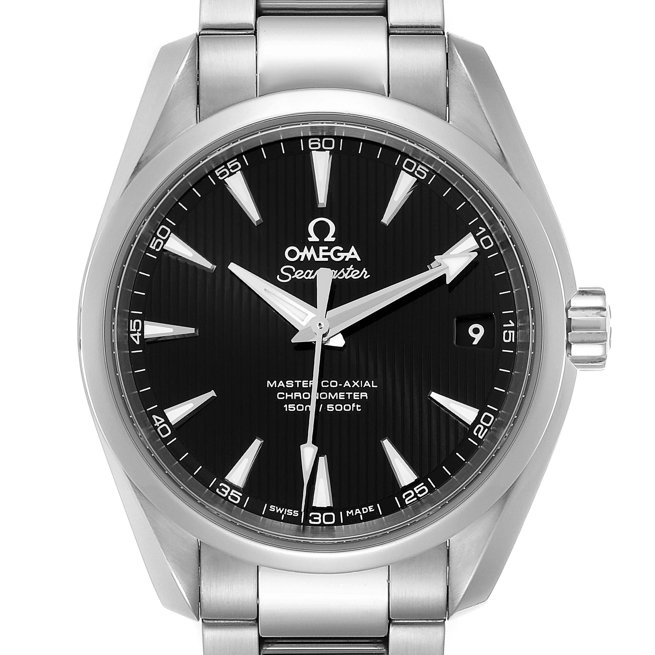 Photo of Omega Seamaster Aqua Terra Blue Dial Watch 231.10.39.21.01.002 Box Card