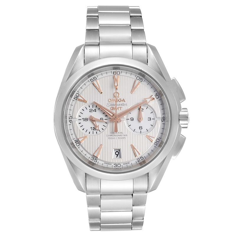 Omega Seamaster Aqua Terra GMT Chronograph Mens Watch 231.10.43.52.03.001 PARTIAL PAYMENT SwissWatchExpo