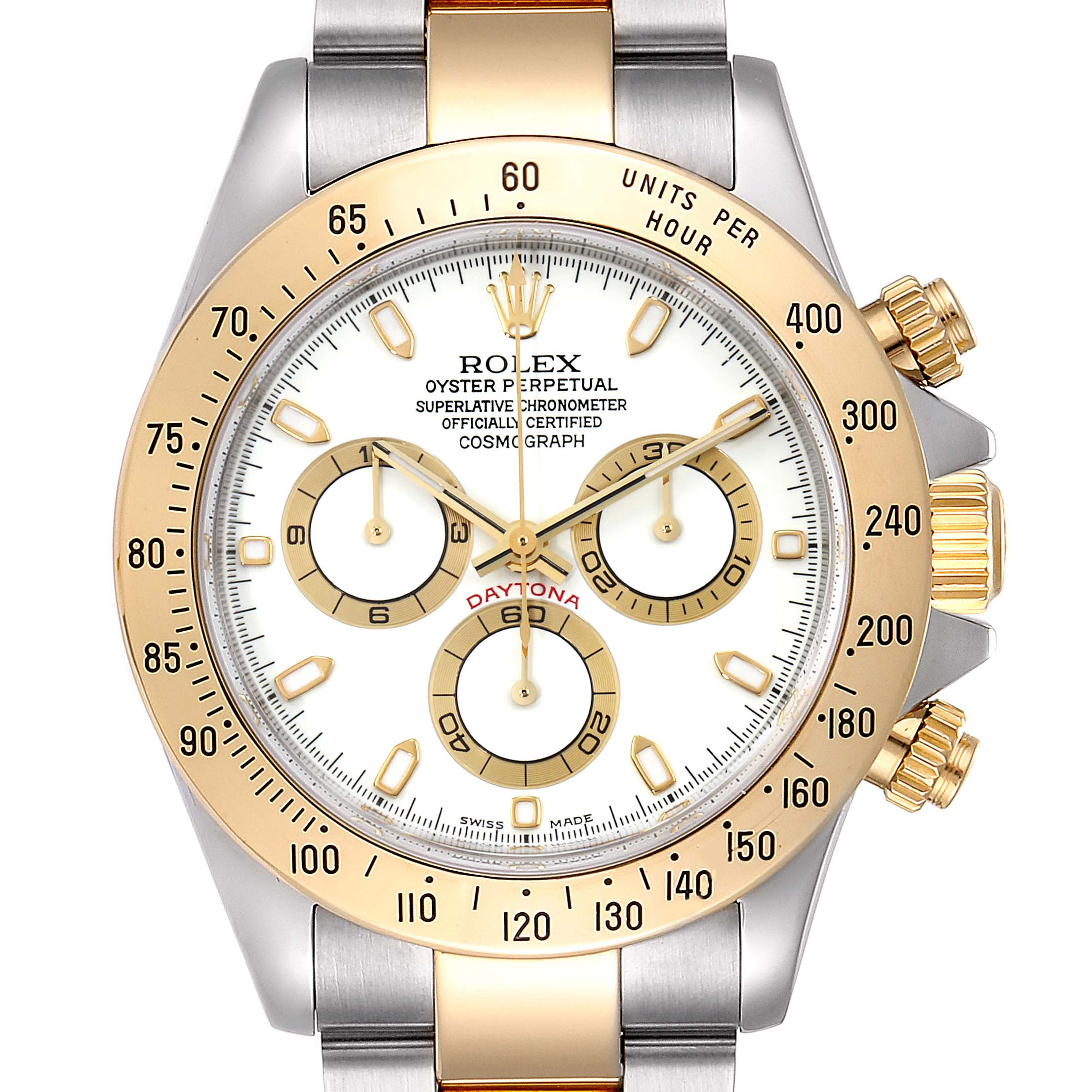 Photo of Rolex Daytona Steel Yellow Gold Steel Mens Watch 116523 Box Papers