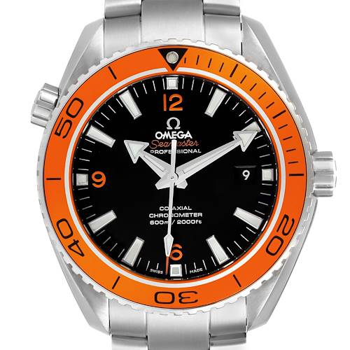 Photo of Omega Seamaster Planet Ocean 45 mm Mens Watch 232.30.46.21.01.002 Box Card