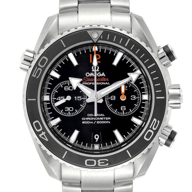 Omega Seamaster Planet Ocean Steel Mens Watch 232.30.46.51.01.003 Box Card SwissWatchExpo