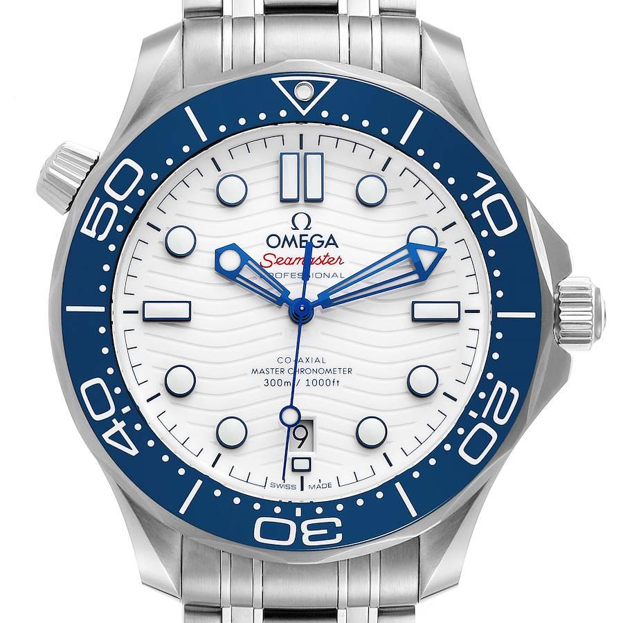 Omega Seamaster Tokyo 2020 LE Steel Mens Watch 522.30.42.20.04.001 Unworn SwissWatchExpo
