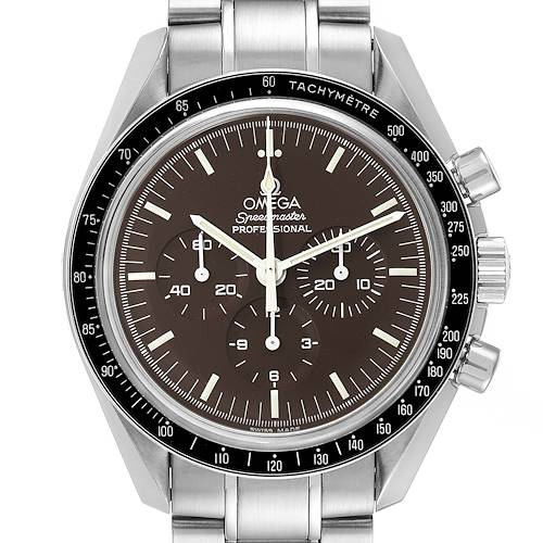 Photo of Omega Speedmaster Brown Dial Moon Watch 311.30.42.30.13.001 Box Card