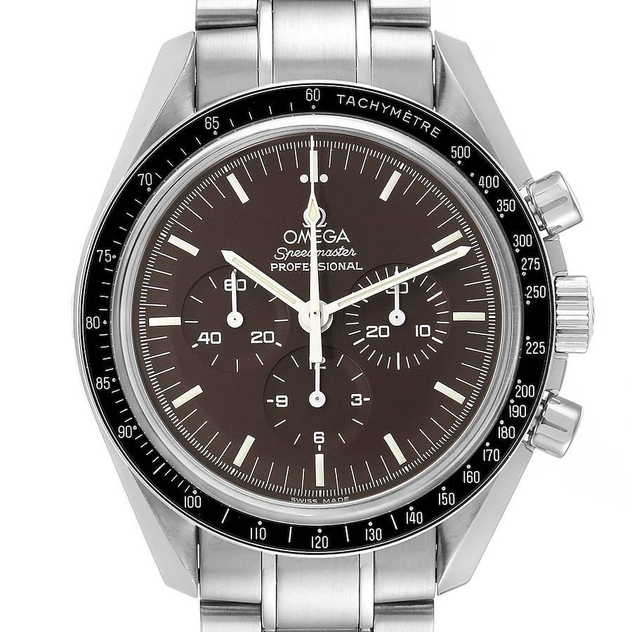 Omega Speedmaster Brown Dial Moon Watch 311.30.42.30.13.001 Box Card SwissWatchExpo