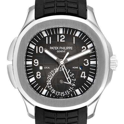 Photo of NOT FOR SALE Patek Philippe Aquanaut Travel Time Steel Mens Watch 5164A Box Papers PARTIAL PAYMENT