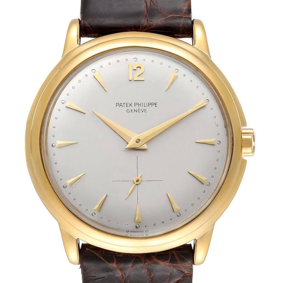 Patek Philippe Calatrava Yellow Gold Automatic Vintage Mens Watch 2552 SwissWatchExpo