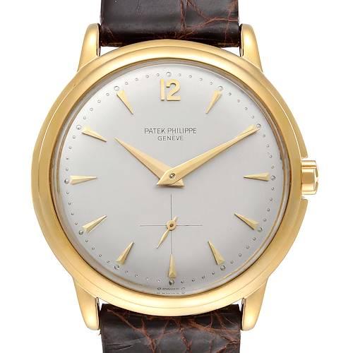 Photo of Patek Philippe Calatrava Yellow Gold Automatic Vintage Mens Watch 2552
