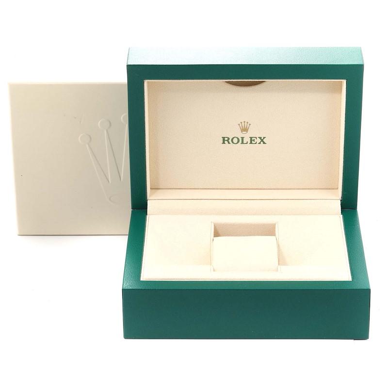 Rolex Datejust 41 Steel White Gold Blue Dial Steel Mens Watch 126334 SwissWatchExpo