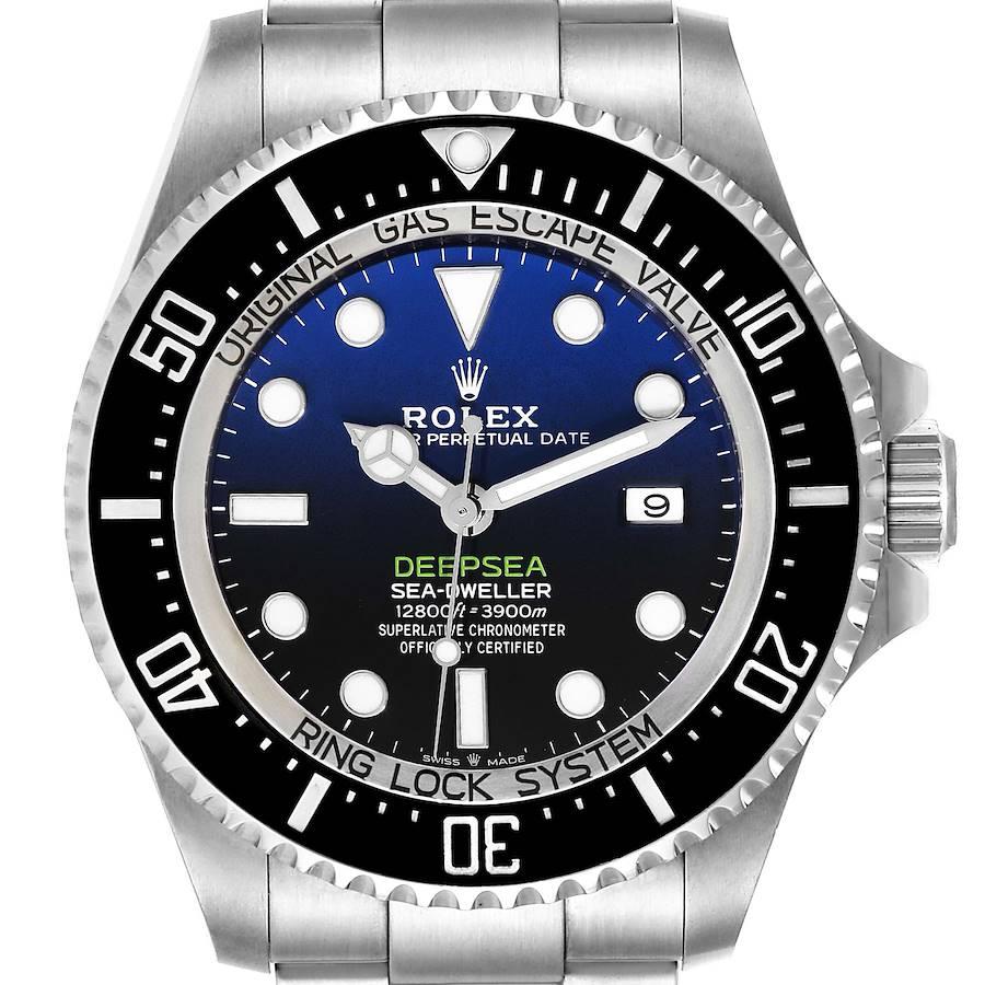 Rolex Seadweller Deepsea 44 Cameron D-Blue Dial Mens Watch 126660 Unworn SwissWatchExpo