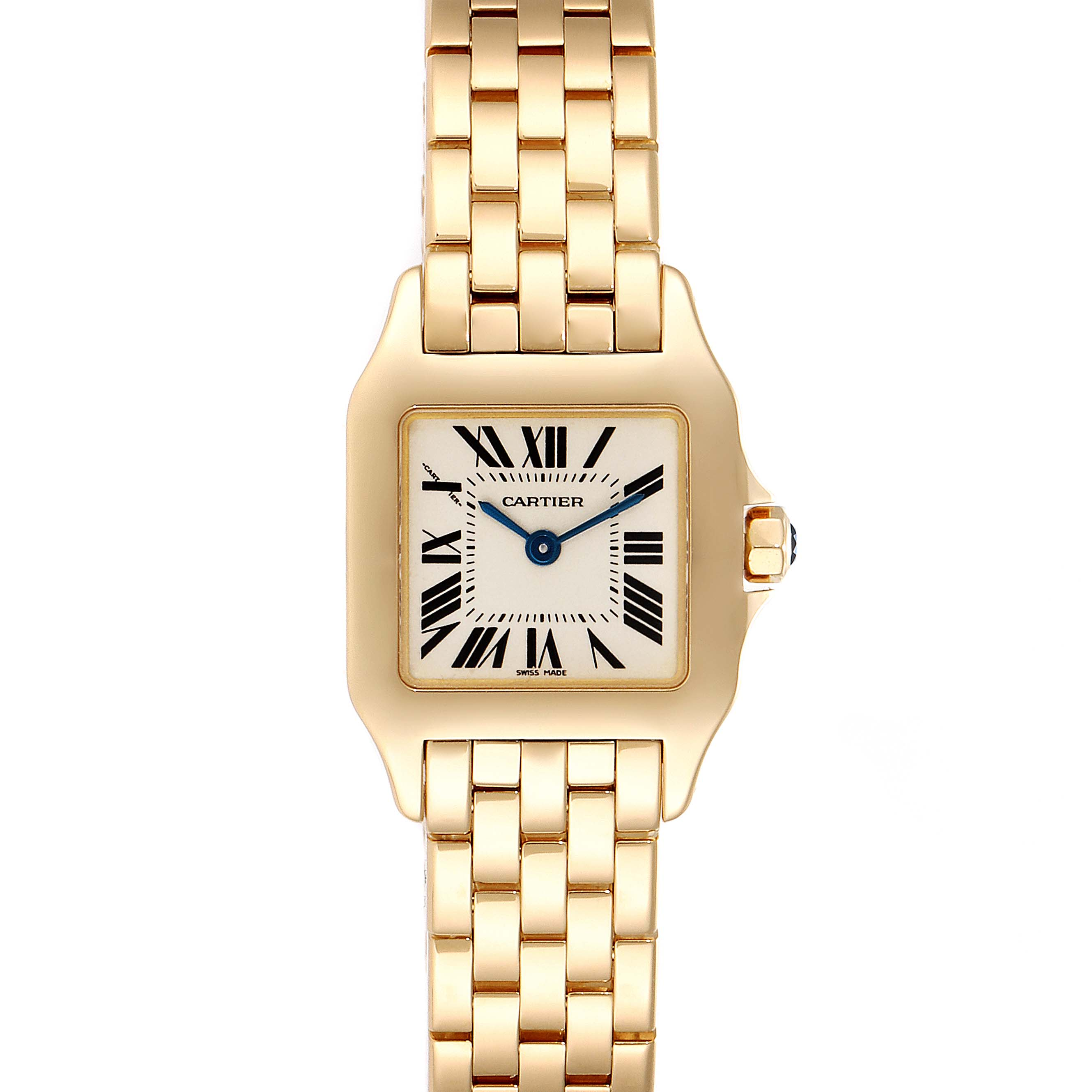 Photo of Cartier Santos Demoiselle 24mm Yellow Gold Ladies Watch W25063X9