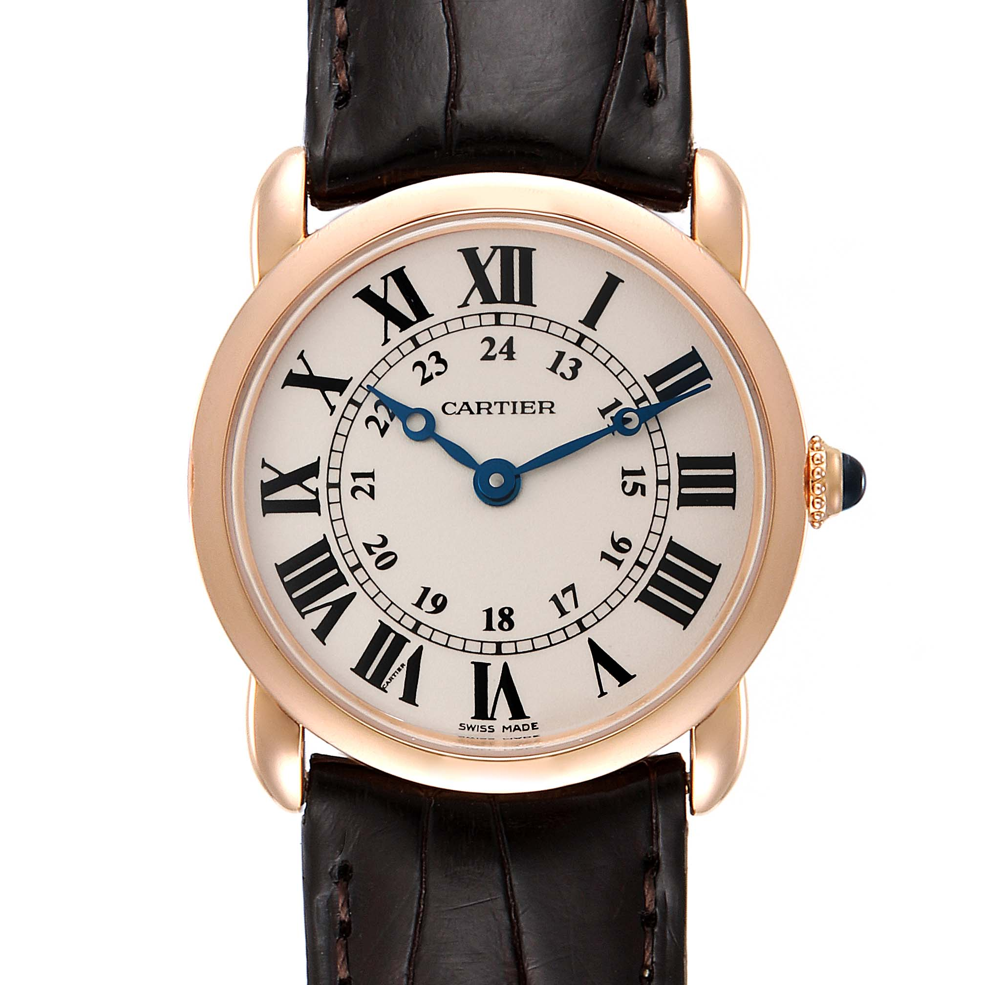 Photo of Cartier Ronde Louis Rose Gold Small Ladies Watch W6800151 Box Papers