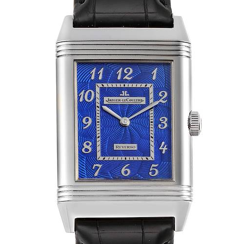 Photo of Jaeger LeCoultre Grande Reverso White Gold Limited Watch 273.3.62 Box Card